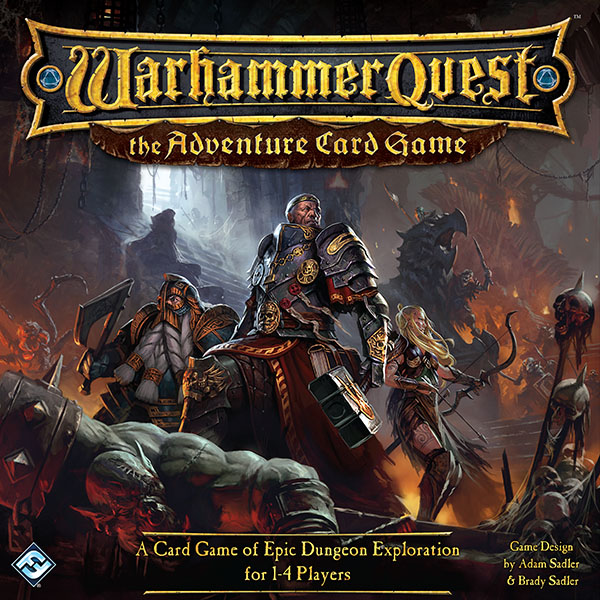 Warhammer Quest: The Adventure Card Game Review – Creaking Shelves
