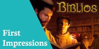 First Impressions Biblios