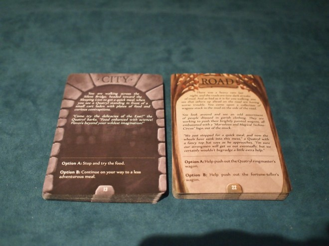 Gloomhaven city cards