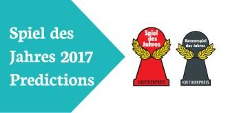Awards Spiel Jahres 2017