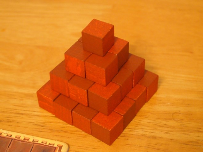 Imhotep player pyramid