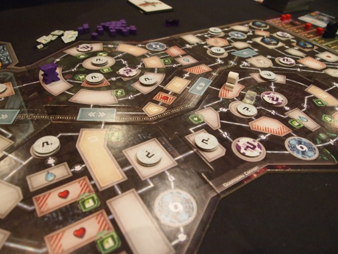Clank in space board