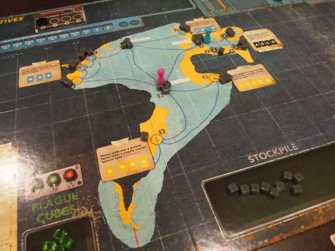 Pandemic Legacy S2 map