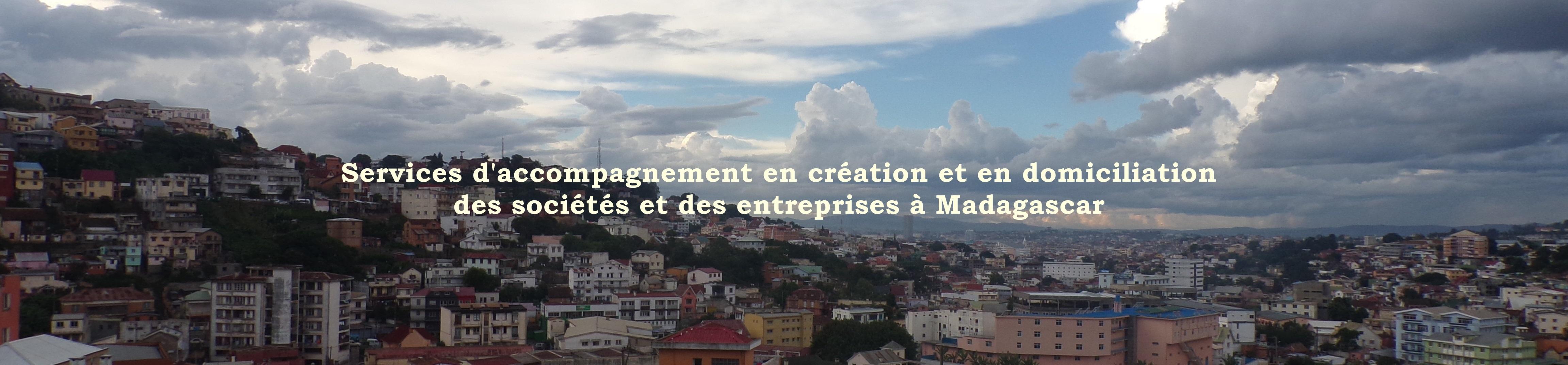 Services de création et domiciliation de sociétés et des entreprises