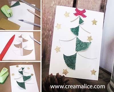 diy-carte-sapin-Noel-paillette-Creamalice