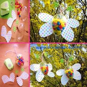 Papillons garnis Pâques