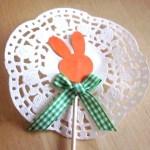 idée créative pics déco lapin Pâques
