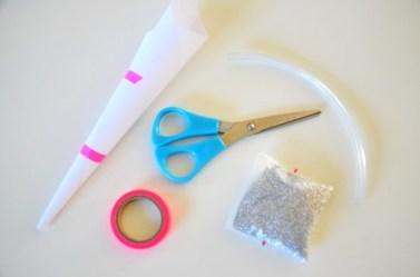 idée créative loisir créatif Bracelet Tube Plastique