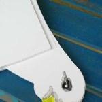 diy mobile mouette carton plume