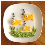 assiette créative enfants poisson d'avril