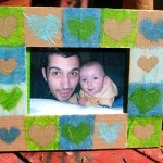 diy-cadre-cœurs-collage-papier