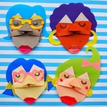 diy-atelier-enfants-visages-origami-