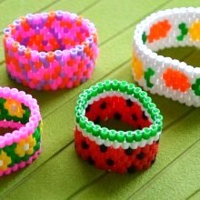 diy-bracelet-manchette-perles-hama