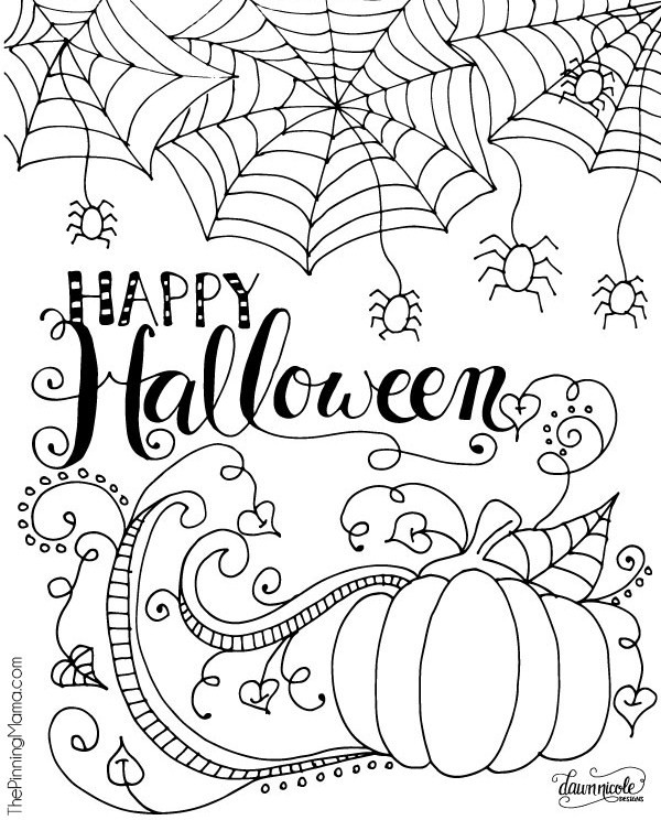 Happy-Halloween-Coloring-Page-Pinnable