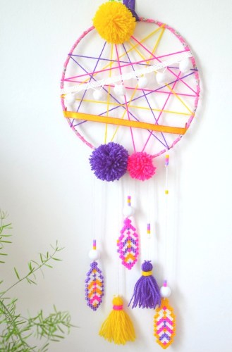 Atelier {DIY} Kids Créamalice -Attrape-rêves -