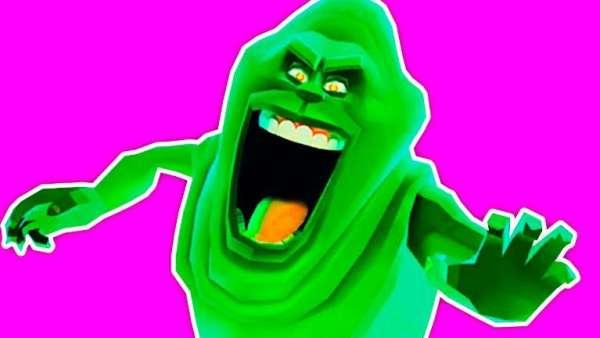 slime ghostbusters