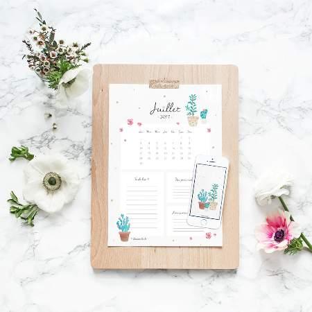 selection-diy-printable-calendrier-Juillet-Creamalice