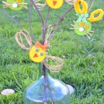 Bricolage nature déco de Pâques pour les kids !