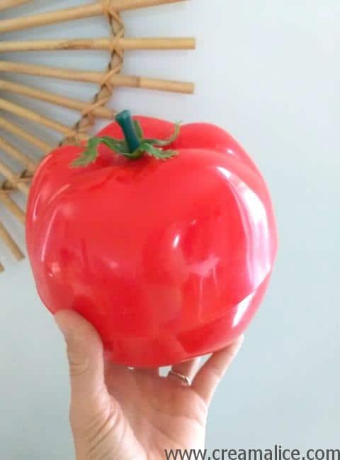 tomate à glaçons vintage