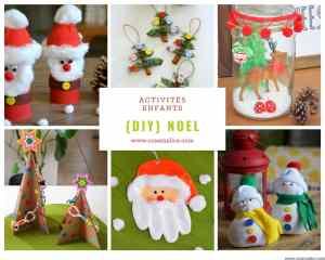 Petits bricolages de Noël pour les enfants