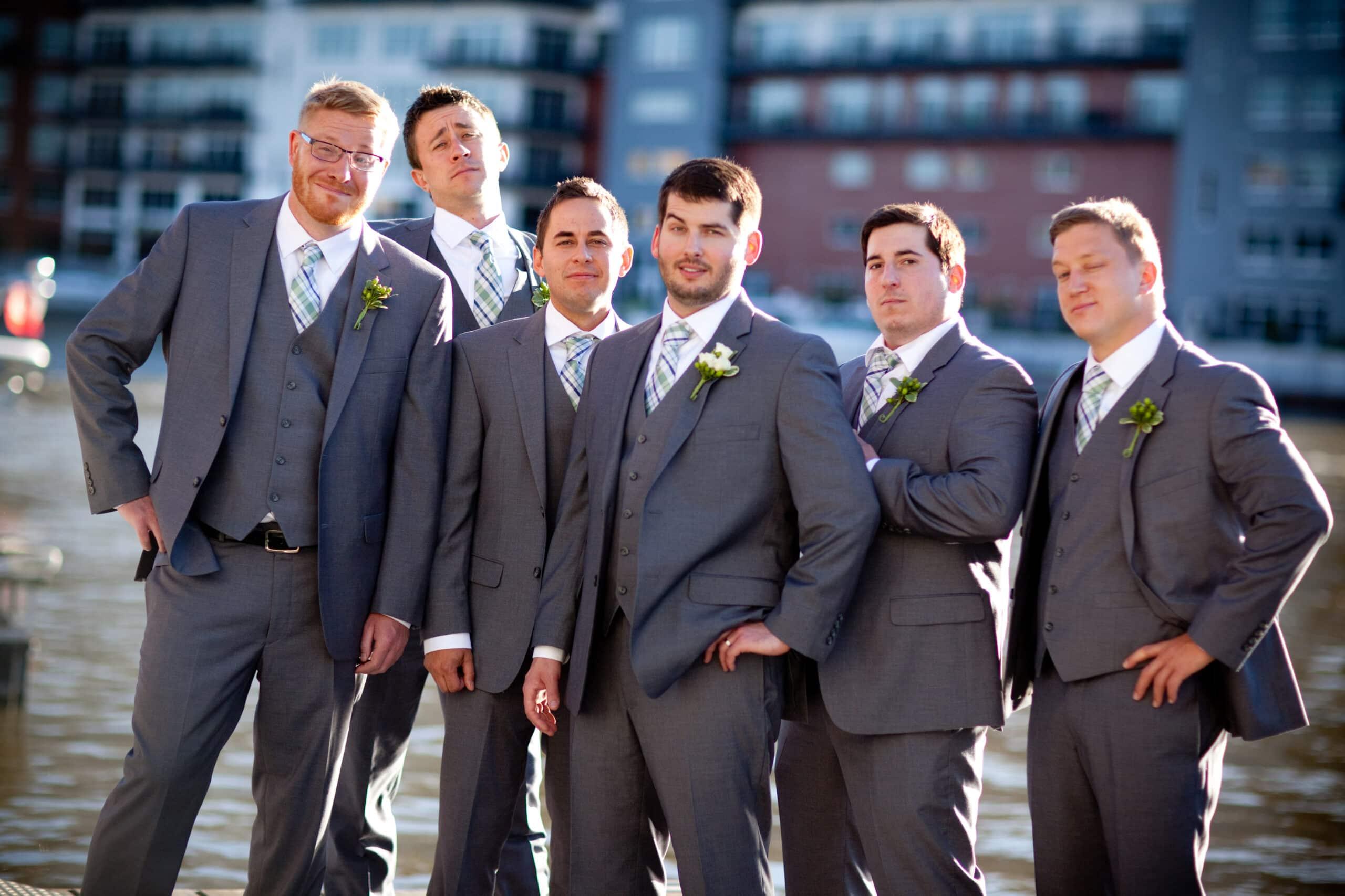 Groomsmen Wedding Photography Milwaukee WI