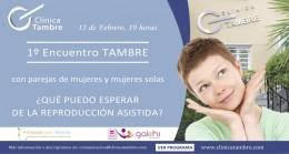 evento presencial en Tambre de Creando una familia