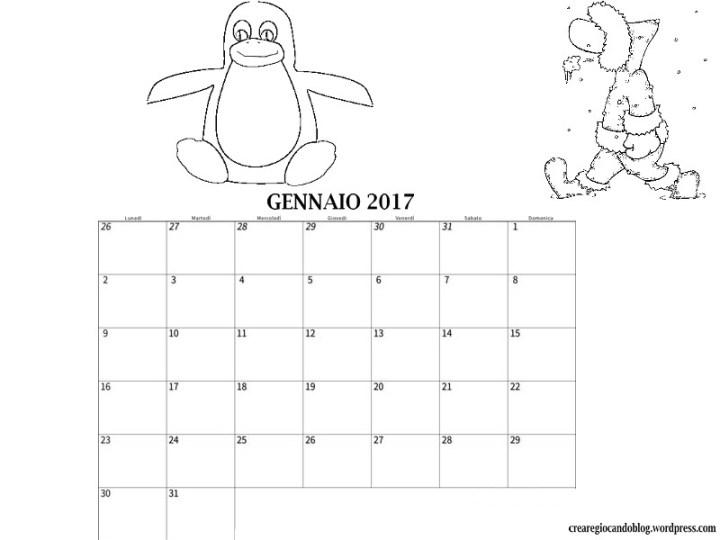 calendario-mese-gennaio-2017