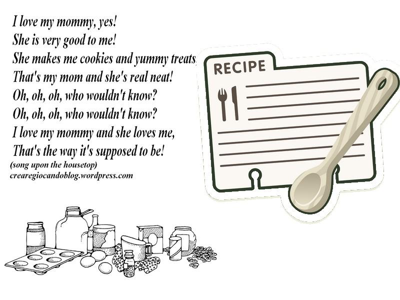Ricette In Inglese Per Bambini.Filastrocche Mother S Songs Inglese Con Lavoretti Crearegiocando