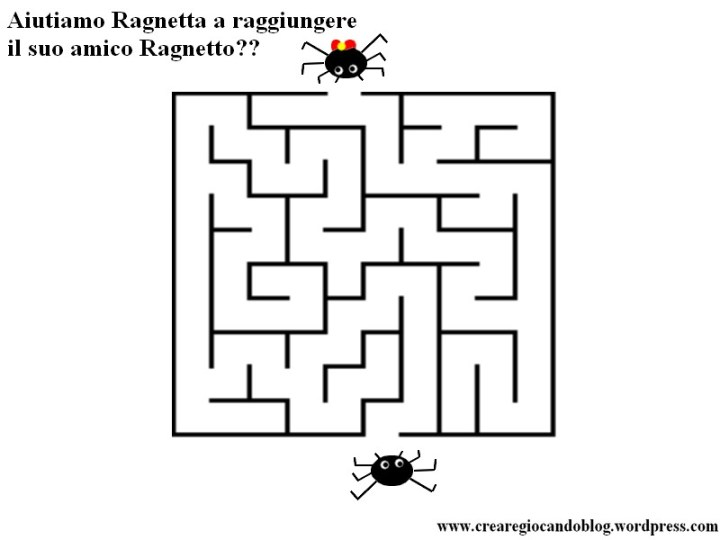 labirinto ragni