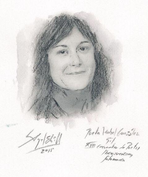 Isabel González Gil, por Miguel Elías.