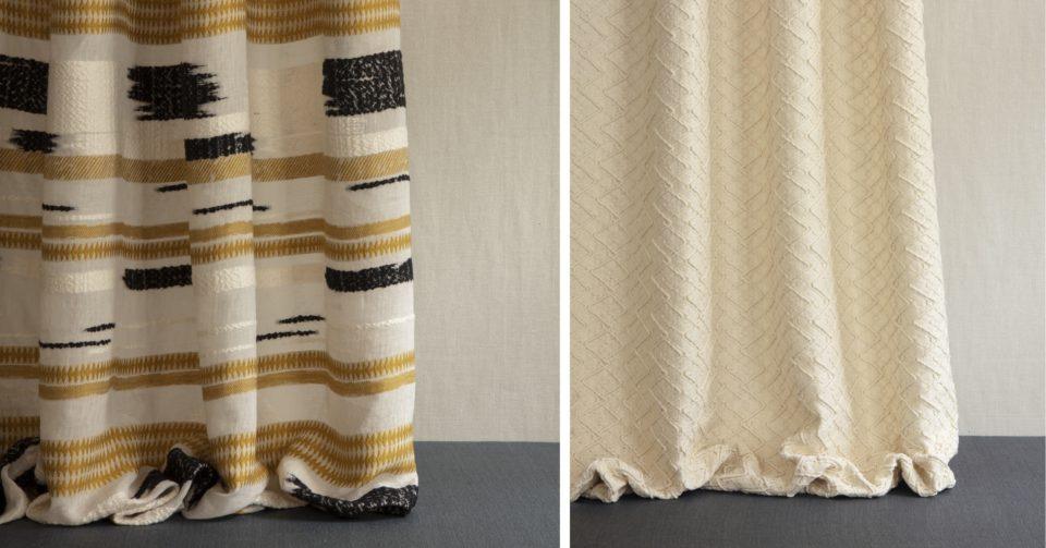 tissus pour rideaux