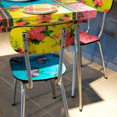 table formica et chaises