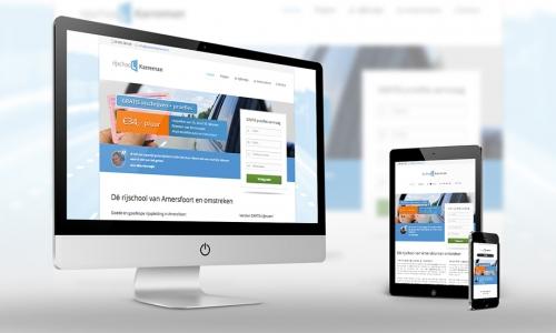 Website Rijschool Karreman
