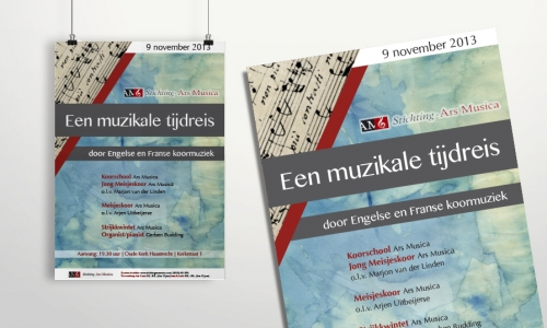 Poster Stichting Ars Musica (III)