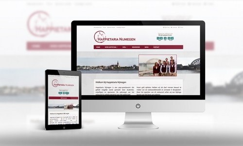 Website Happietaria Nijmegen