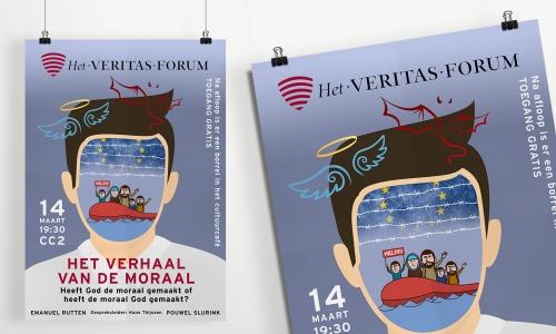 Poster Veritas-forum Nijmegen