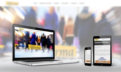 Website Afferma coaching en therapie