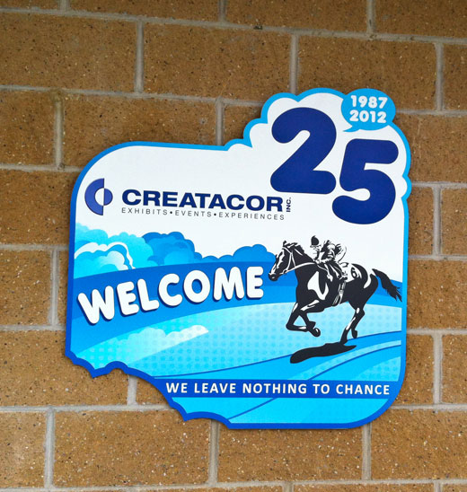 Creatacor celebrates it's 25th Anniversary with clients, friends and family.