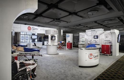Creatacor Nori Award 2011 Entry - Laerdal Medical 50' x 50' custom exhibit