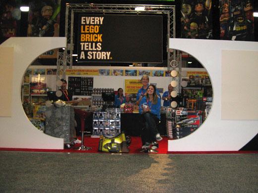 LEGO at Comic-Con 2012