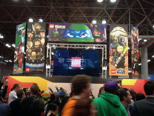 LEGO at New York Comic Con 2012