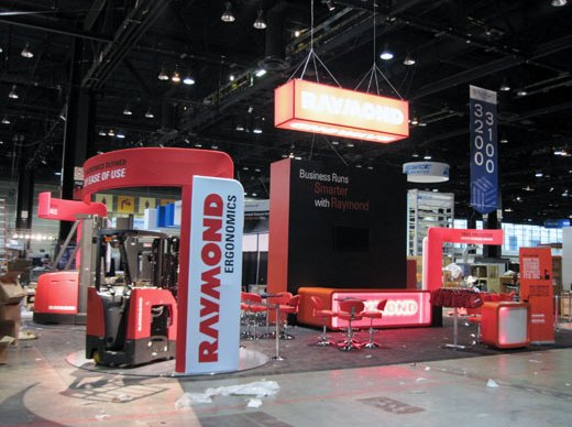Raymond Corporation's exhibit at ProMat 2011