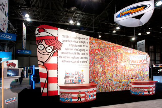 Techno Source Where's Waldo? at Toy Fair 2012