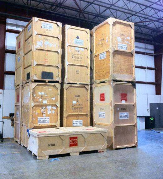 Toy Fair 2011 Crates