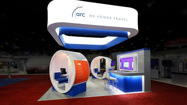 ARC - GBTA custom trade show by Creatacor Clifton Park NY New York