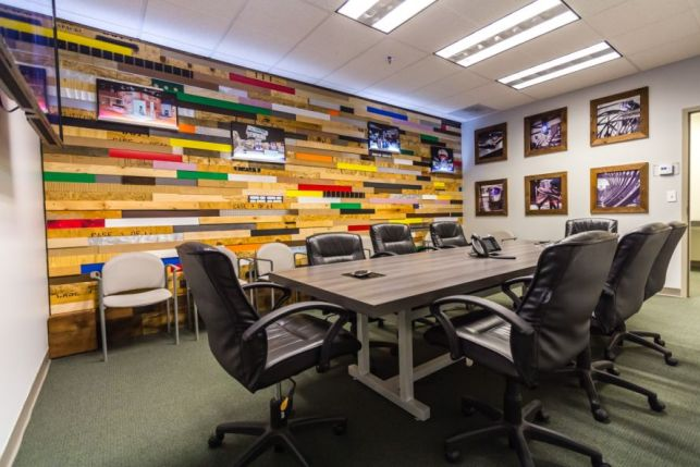 Office rebranding - conference room 2