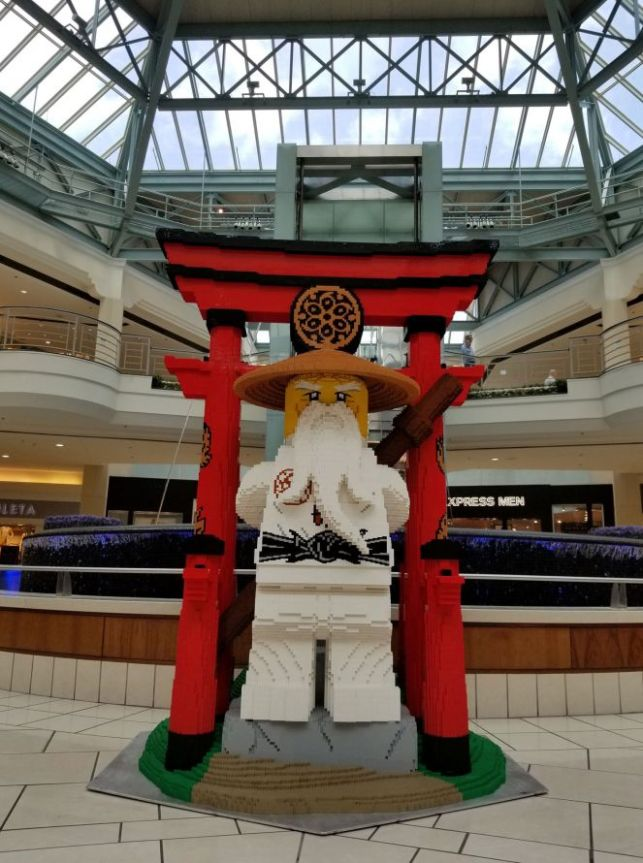 LEGO® Takeover! at The Gardens Mall in Palm Beach, Florida