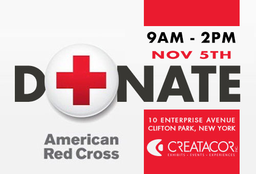 Creatacor Red Cross Blood Drive
