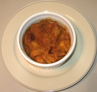 Pumpkin Bread Pudding - Fresh