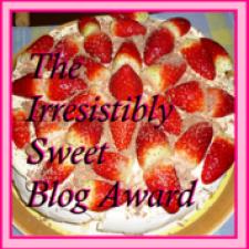 Irresisitibly Sweet Award